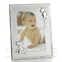 Babies Two Tone Teddy Photo Frame